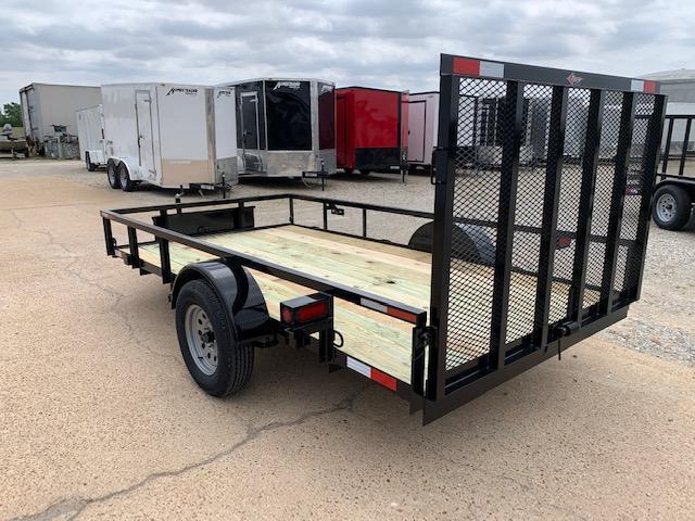 2020 Stingray 6 x 12 Single Axle 3K Utility Trailer w/ Gate and Toolbox
