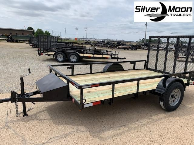 2020 Stingray 6 x 12 Single Axle 3K Utility Trailer w/ Gate and Toolbox