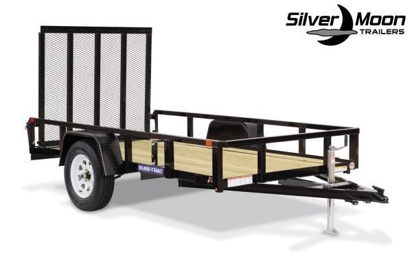 "2019 Sure-Trac 72"" x 12' Tube Top Utility Trailer"