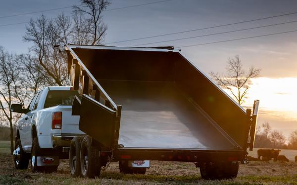 "2020 Big Tex Trailers 14LP 83"" x 16' 14K Low Profile Dump Trailer"