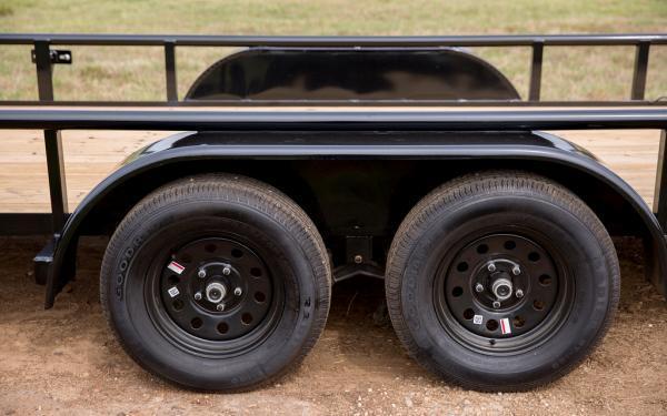 """2020 Big Tex Trailers 60PI 77"""" x 16 Utility Trailer"""