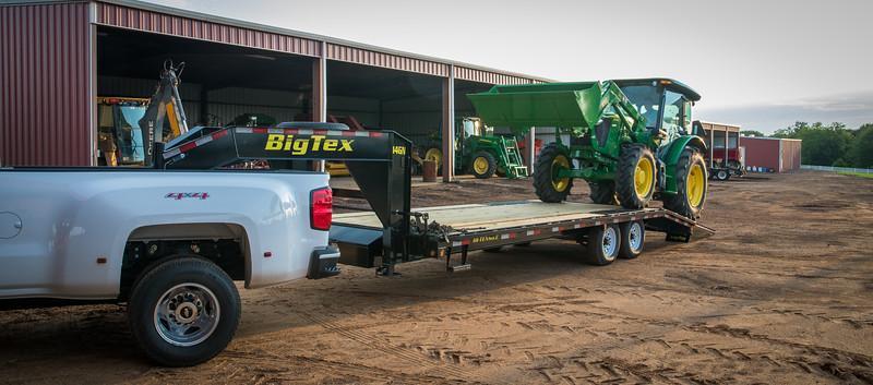 2020 Big Tex Trailers 14GN-20+5 14K Gooseneck Flatbed