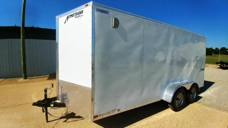 2020 Homesteader 7 x 16 Tandem Cargo Trailer