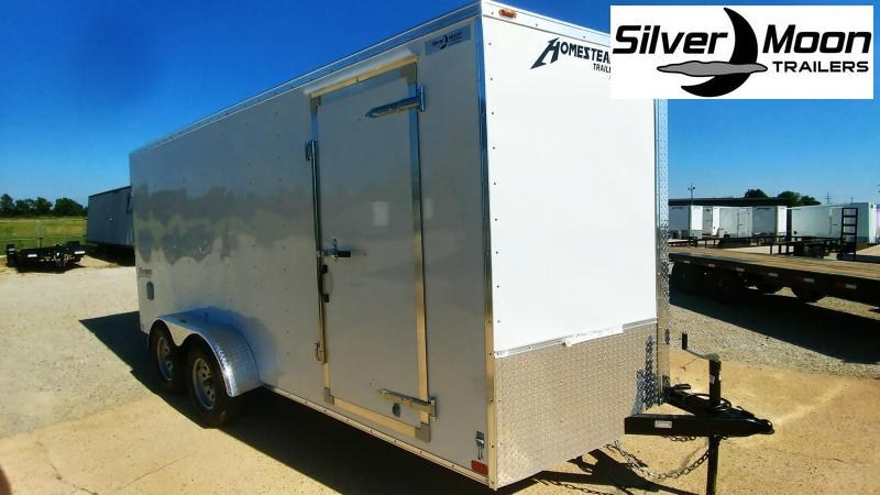 2020 Homesteader 7 x 16 Tandem Cargo Trailer