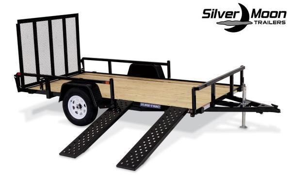 2020 Sure-Trac 7x14 Tube Top ATV Trailer