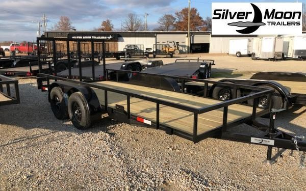 "2020 Stingray 76"" x 16' 7K Utility Trailer"