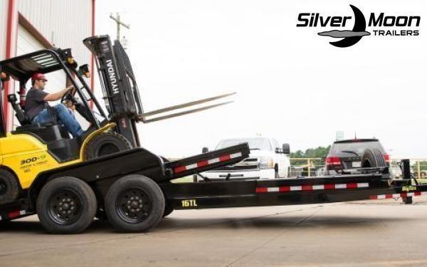 2020 Big Tex Trailers 16TL 22' Super Duty Tilt Equipment Trailer 17.5K