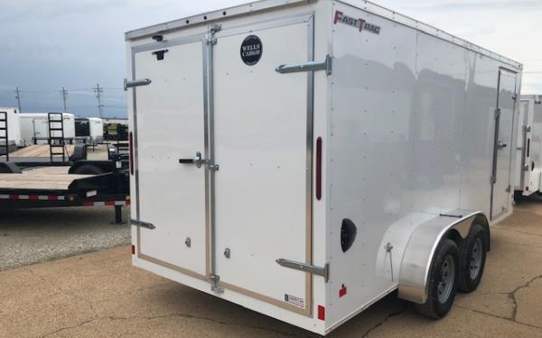 2020 Wells Cargo FastTrac 7 x 16 TA Enclosed Cargo Trailer For Sale