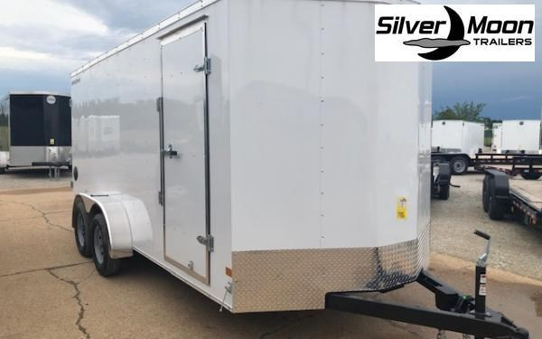 2020 Wells Cargo FastTrac 7 x 16 TA Enclosed Cargo Trailer
