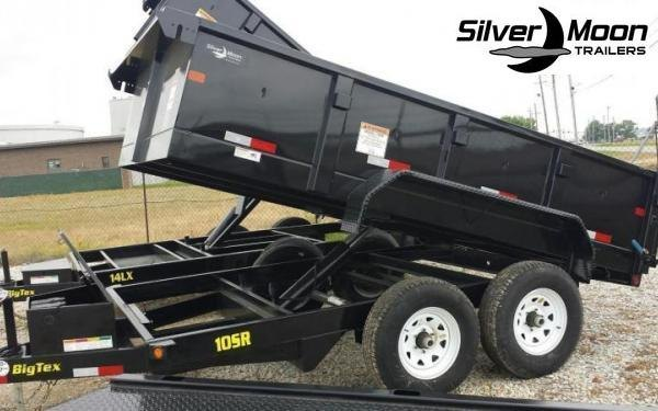2020 Big Tex Trailers 10SR 7 x 12 10K Dump Trailer