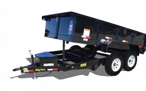 2020 Big Tex Trailers 10SR 7 x 12 10K Dump Trailer