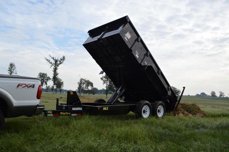 """2020 Big Tex Trailers 14LX 83""""x14' 14K Dump Trailer w/ Hydraulic Jack"""