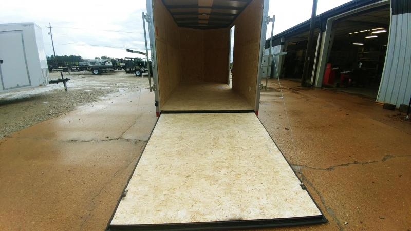 2020 Pace American 6x12 V-Nosed Enclosed Cargo Trailer
