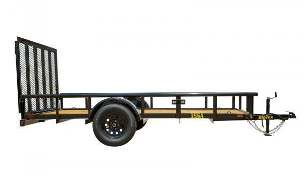 "2020 Big Tex Trailers 35SA 77"" x 10 Utility Trailer"