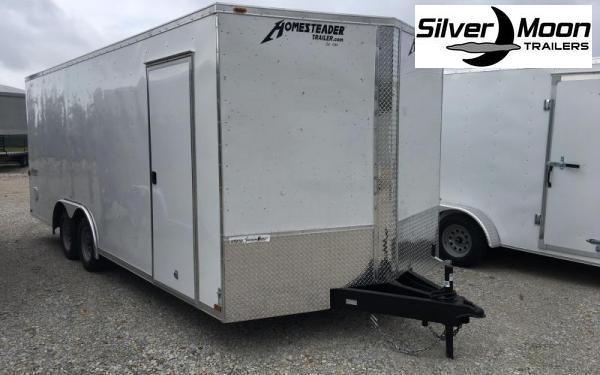 2020 Homesteader 8.5 x 20 Enclosed Cargo Trailer