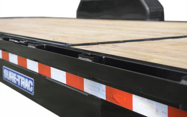 2020 Sure-Trac 12' + 4 7K Single Axle Tilt Bed Equipment Trailer