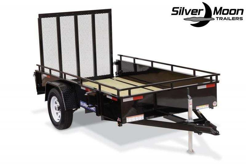 2020 Sure-Trac 7 X 12 Steel High Side Utility Trailer