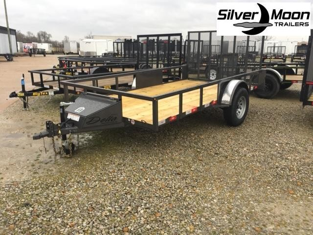 "2020 Delta Manufacturing 135U 76""x12' ATV Trailer For Sale"