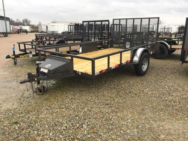 2020 Delta Manufacturing 135U ATV Trailer