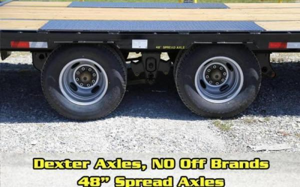 2020 Big Tex Trailers 22GN-20+5MR Equipment Trailer 23.9K