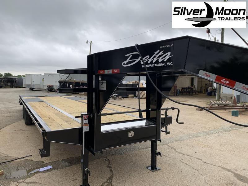 2020 Delta Manufacturing 210GN Flatbed Trailer