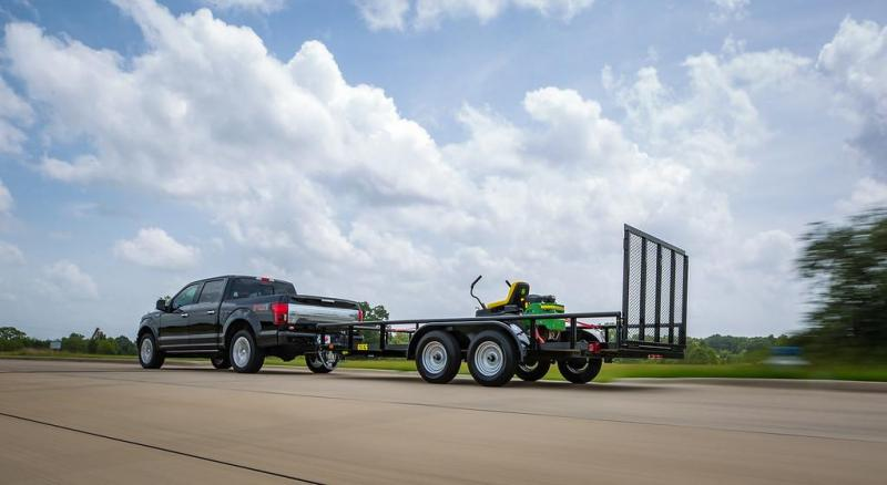 "2020 Big Tex Trailers 45ES 77"" x 16 Utility Trailer"