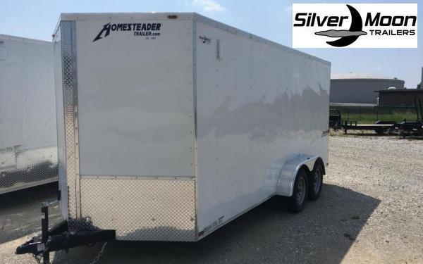 2020 Homesteader 7 x 14 TA Enclosed Cargo Trailer