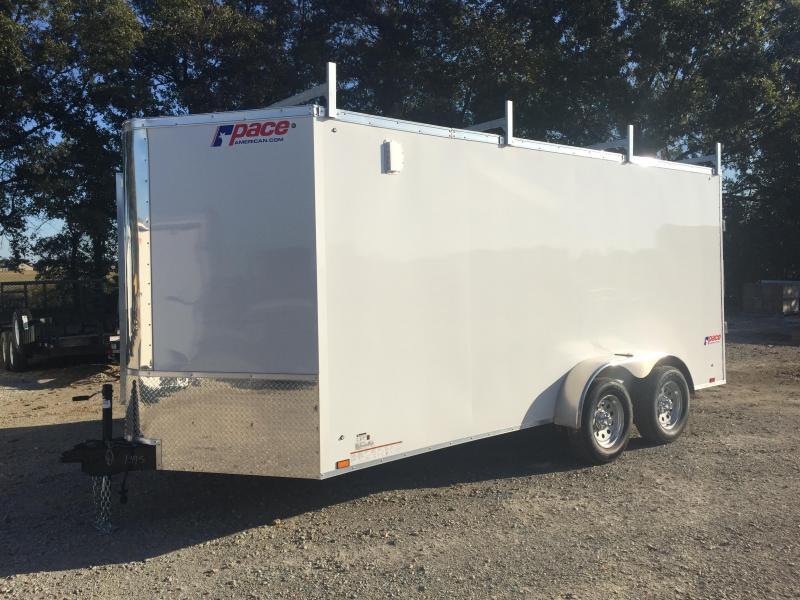 2020 Pace American CS7X16TE2 Enclosed Cargo Trailer