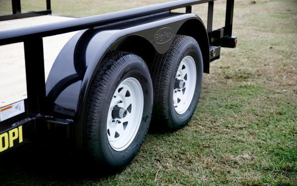 2020 Big Tex Trailers 70PI-20 Utility Trailer W/Gate