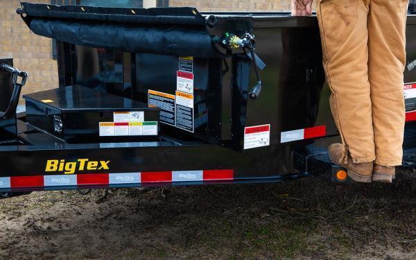 "2020 Big Tex Trailers 14LP 83"" x 14 14K Low Profile Dump Trailer"