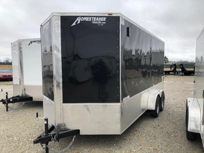 2020 Homesteader 7x16 OHV Tandem Axle Cargo Trailer For Sale