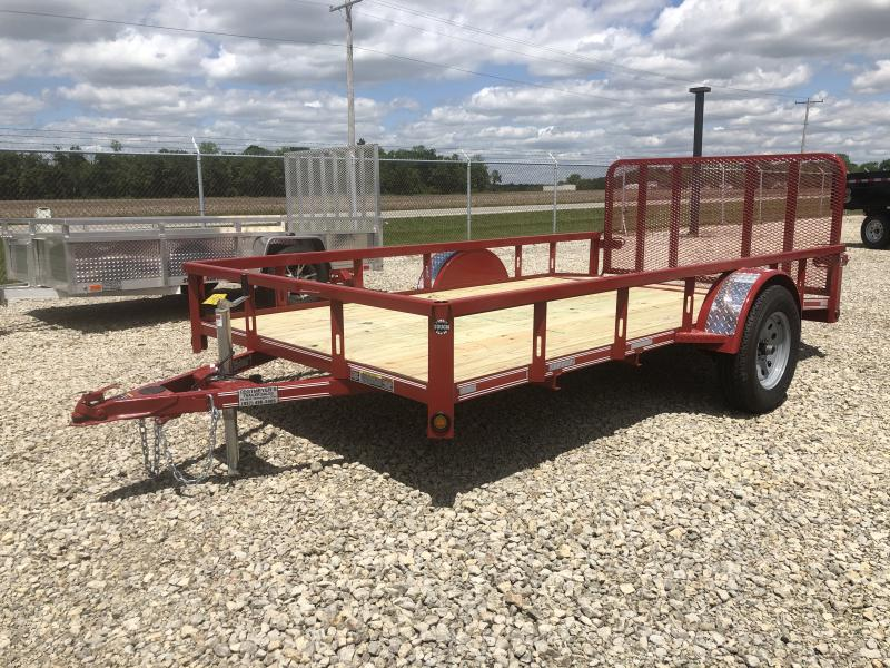 Heartland Trailers 6x12 Utility Trailer w/ Rear Gate