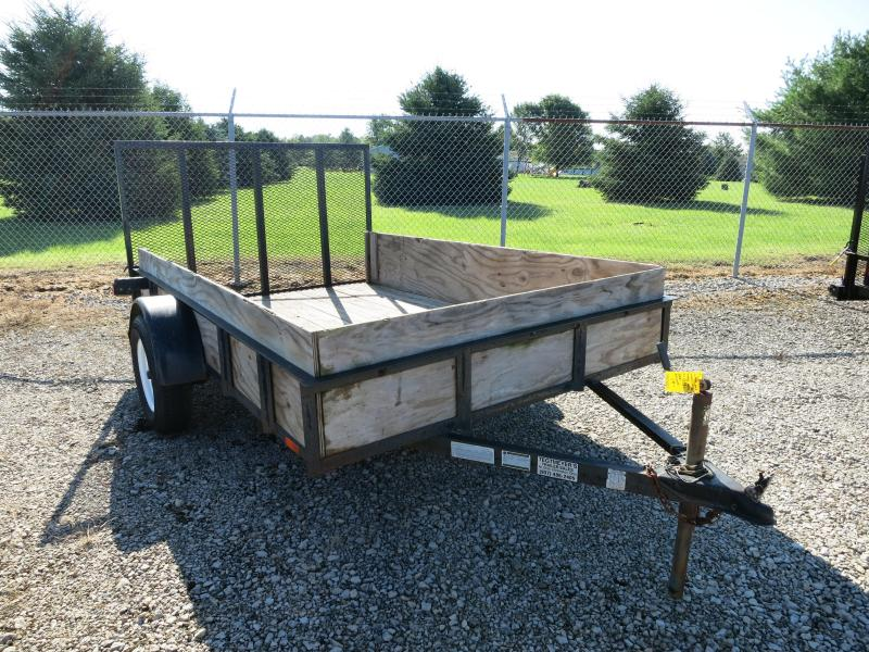 Used 6x10 Single Axle Utility Trailer