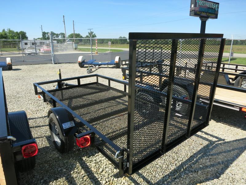 American Manufacturing 5X10 Utility Trailer w/ gate