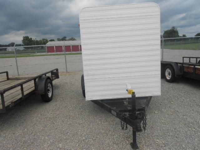 5x8 Single Axle Enclosed W Double Rear Doors