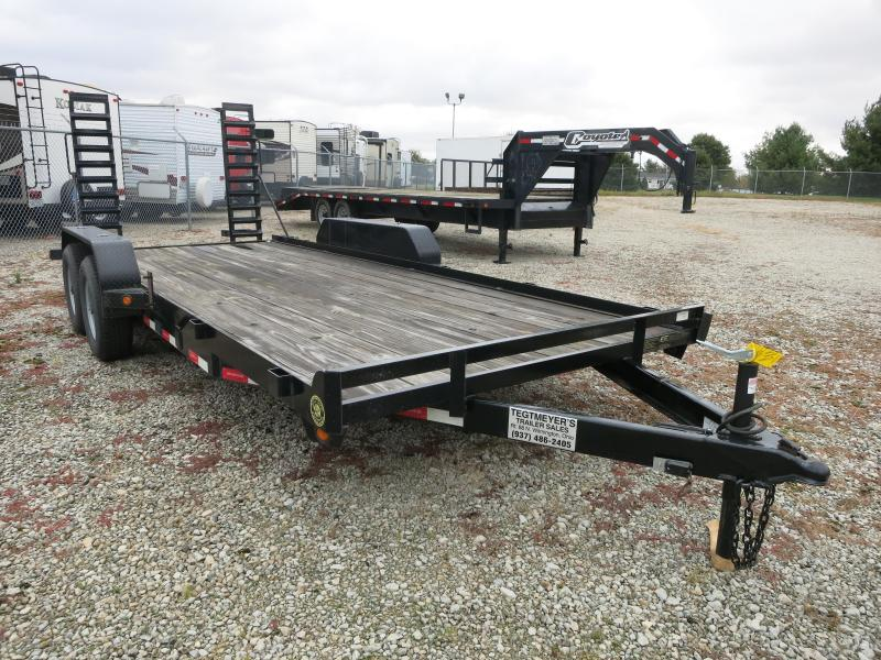 2017 Gatormade Trailers 7X18 TA-99 Equipment Trailer