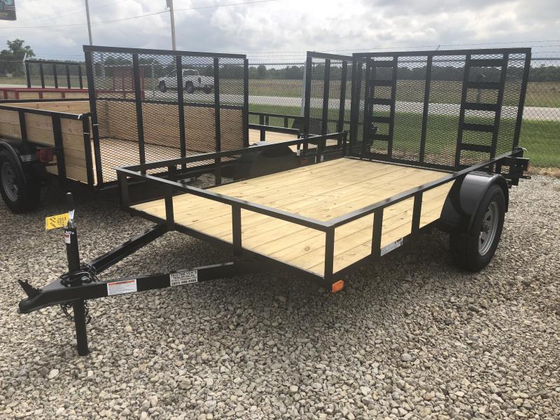 American Manufacturing 6x10 Utility Trailer w/ HD gate