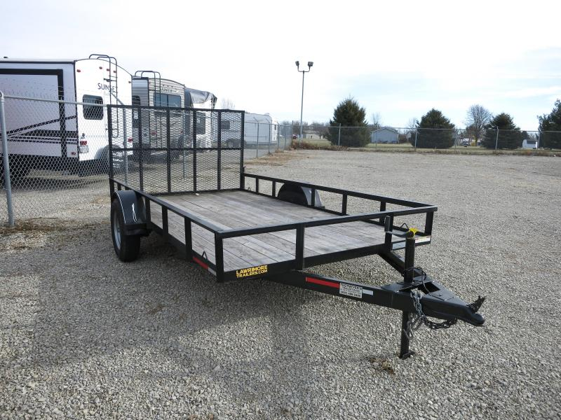 USED 2018 Lawrimore 7X12 SA-29 Utility Trailer