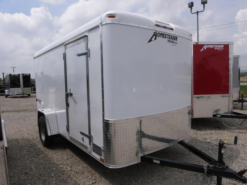 Homesteader Trailers 6x12 Enclosed Trailer w/ Ramp Door - Side Door