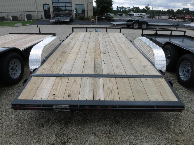 PJ Trailers 16' Car Trailer w/ Ramps