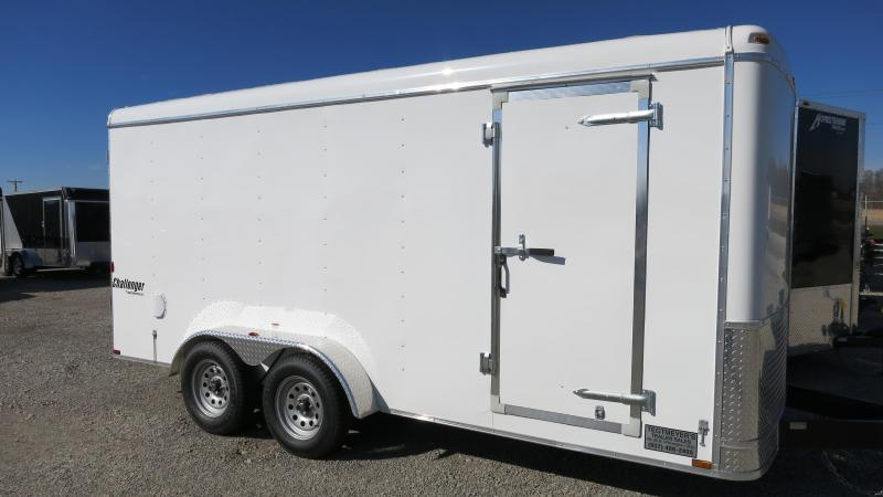 Homesteader Trailers 7x16 Enclosed Trailer w/ Double Door - Side Door - extra height