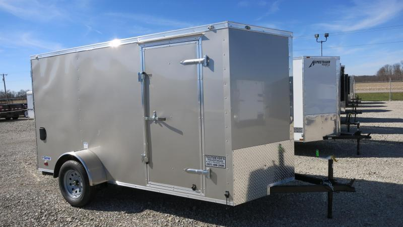 Continental Cargo 6X12 Enclosed Trailer W/ Ramp Door - LED - Dome Light