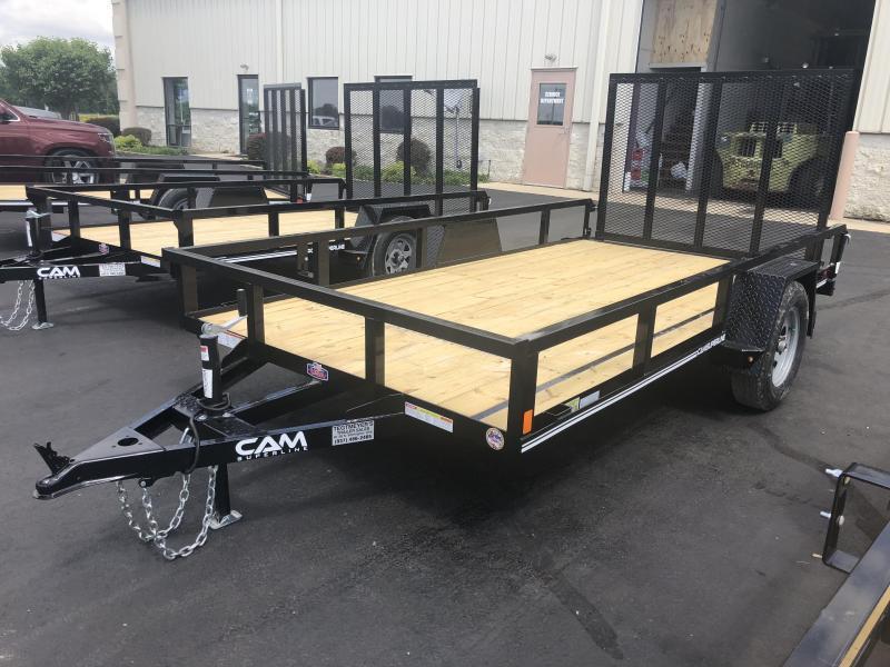 Cam Superline Trailers  6x12 Utility w/ gate