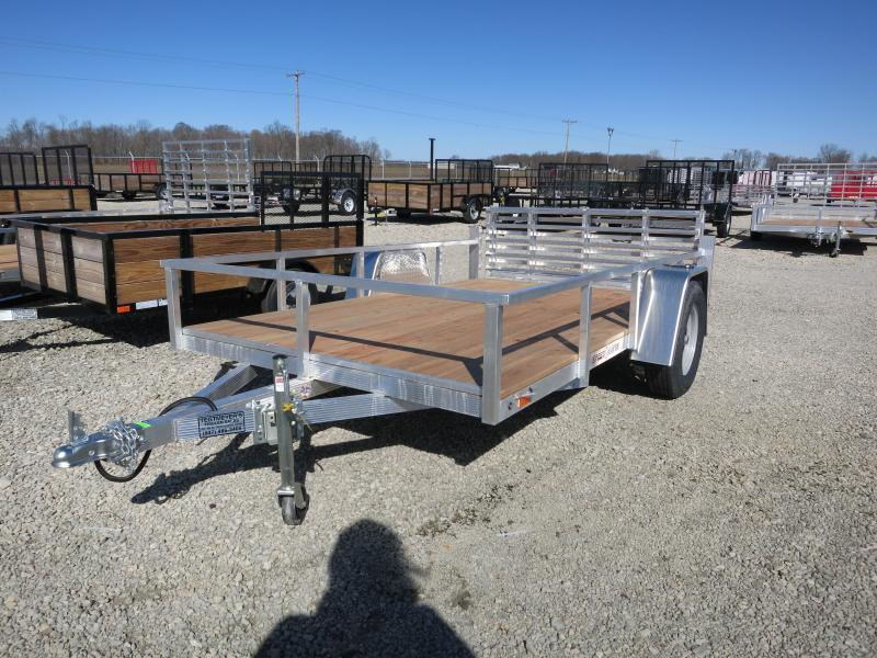 Sport Haven 6x10 Aluminum Utility Trailer w/ Gate