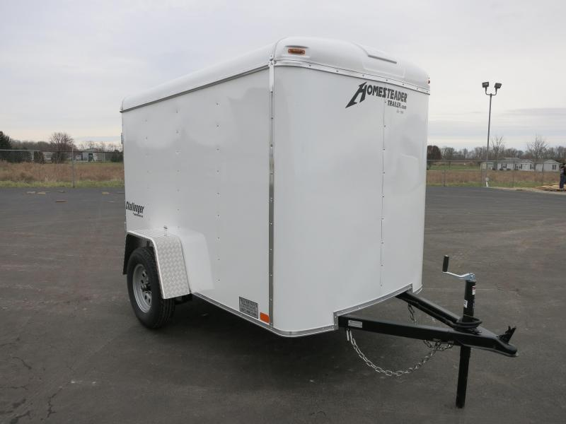 Homesteader Trailers 5x8 SA-29 Enclosed with Single Rear Door