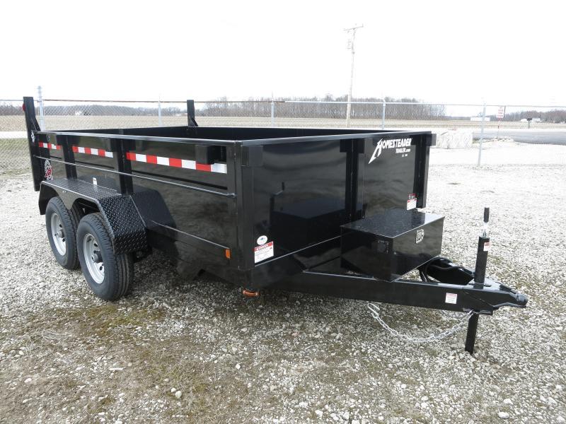 Homesteader Trailers - 7x12 Dump Trailer TA-99
