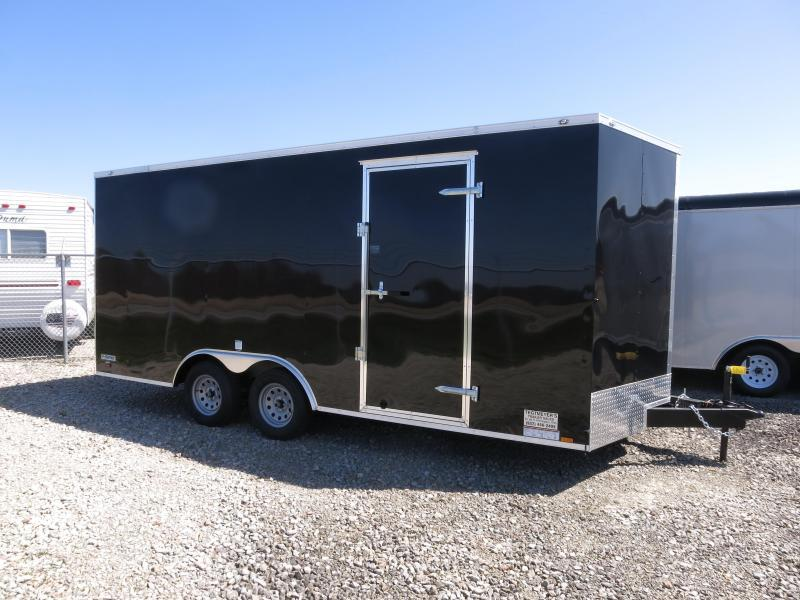 Continental Cargo 8.5X16 Enclosed Trailer W/ Ramp Door