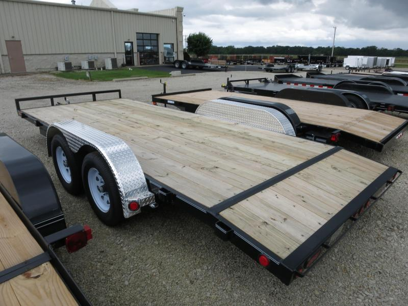 PJ Trailers 18' Car Trailer w/ Ramps