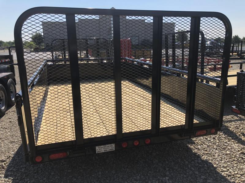 PJ Trailers 7x12 Utility Trailers w/ Gate