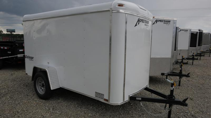 Homesteader Trailers 5x10 Enclosed w/ Single Rear Door